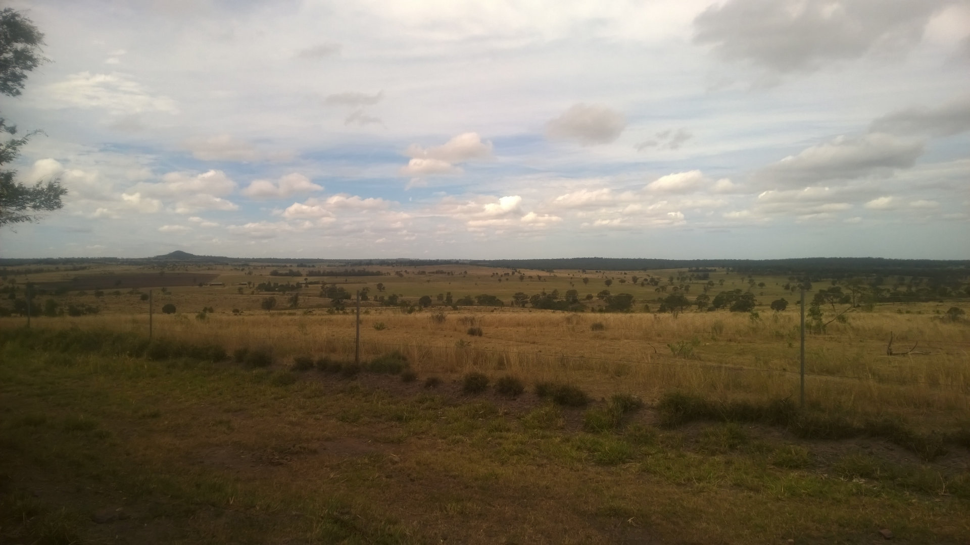 View from Boiling Springs Lookout, a lookout along the Dingo Fence not far from the start of the Dingo Fence