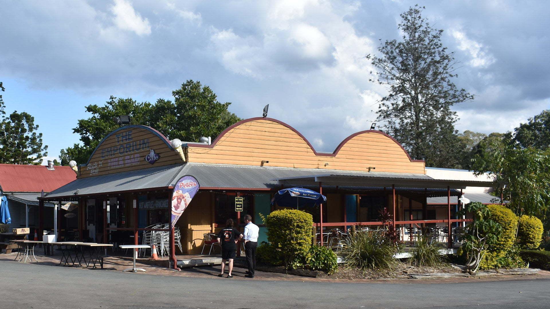 The Emporium Milk Bar at Old Petrie Town