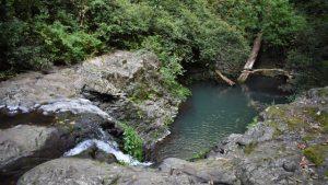 Goomburra Section Main Range National Park Cascade water pool