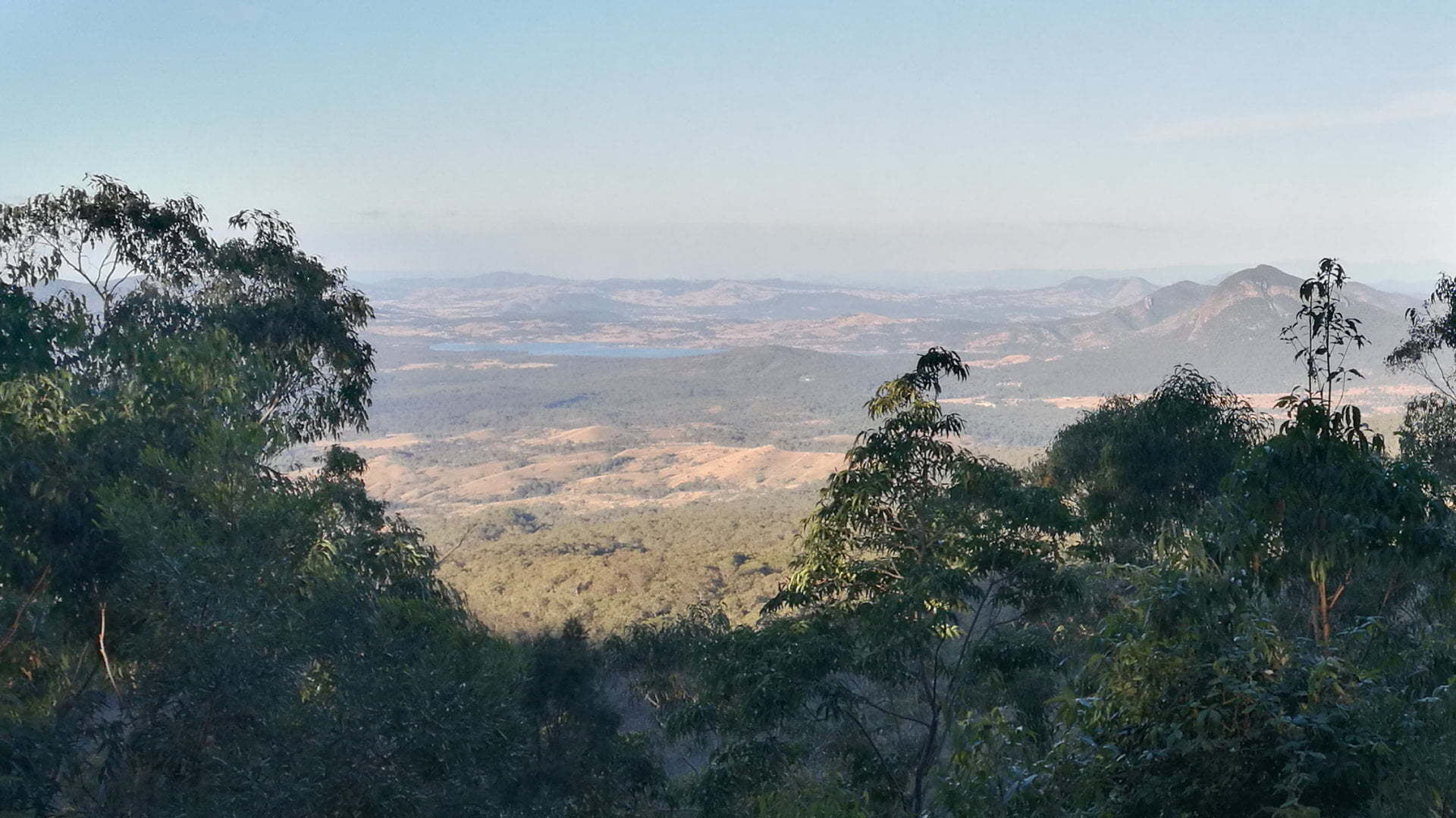 Main Range National Park view from Rainforest Circuit