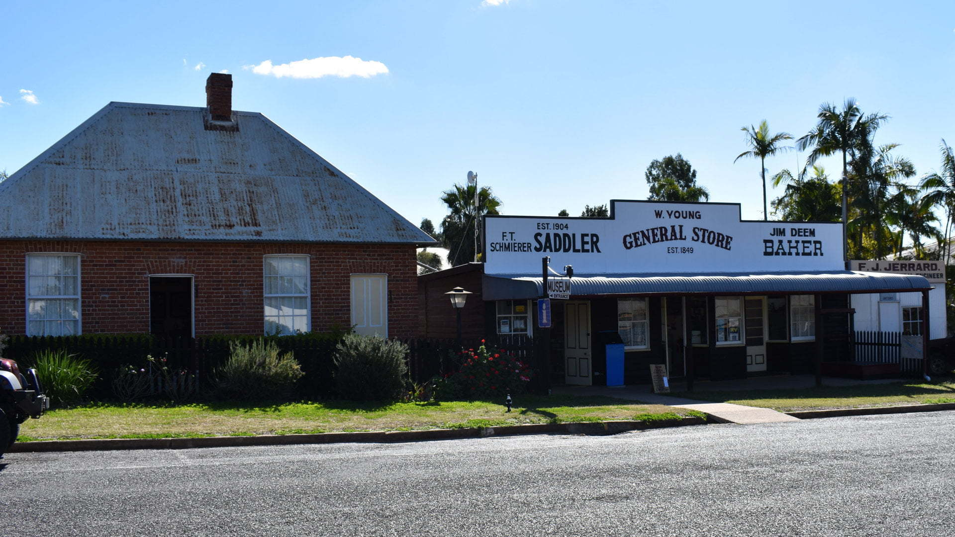 Front of the Gayndah Museum