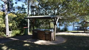 BBQ area at Baroon Pocket Dam