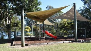 Playground at Baroon Pocket Dam