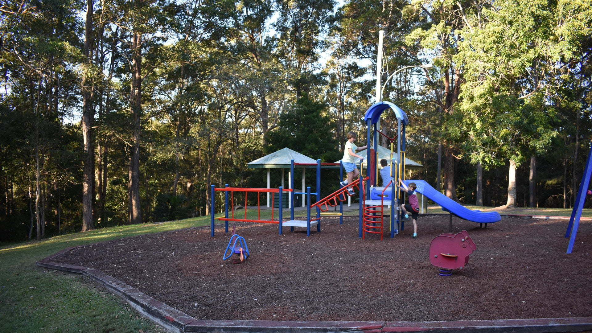Playground at Cilento Park in Nambour
