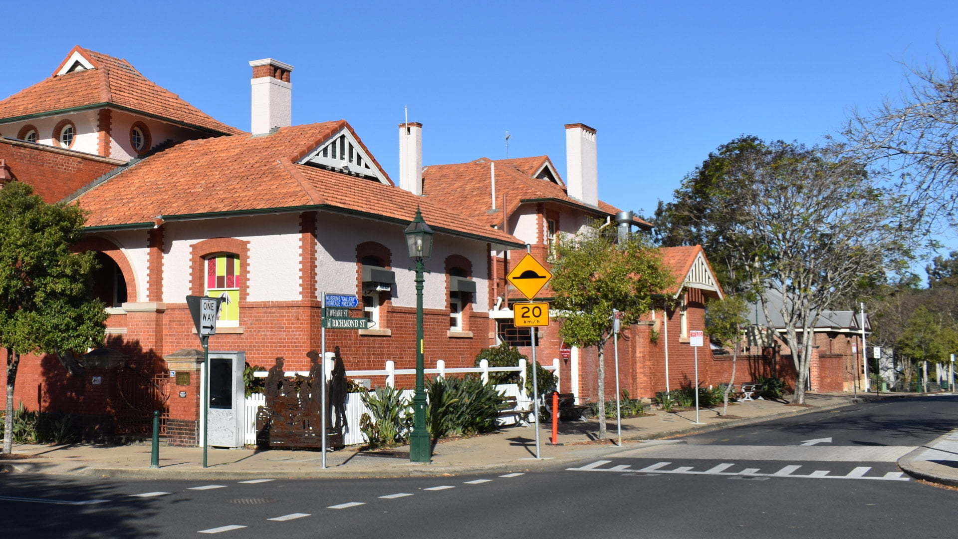 Historical Customs House building in Maryborough, in the Maryborough Heritage Gateway