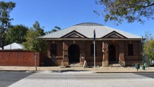 Historical Bond Store in Maryborough in the Portside District
