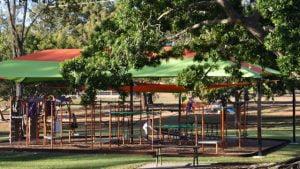 Playground at Anzac Park in Maryborough