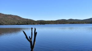 View of the Lake at Cania Dam