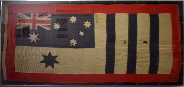 Australian War Bonds Honour Flag, awarded to Beaudesert district for raising more than their quota in 1918