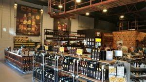Inside Bundaberg Rum Distillery Bond Store