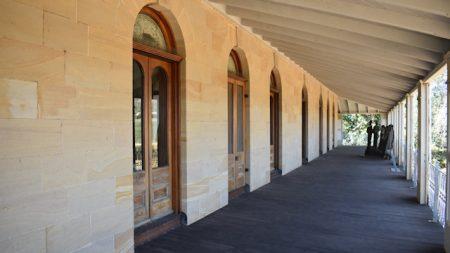 Balcony of Glengallan Homestead