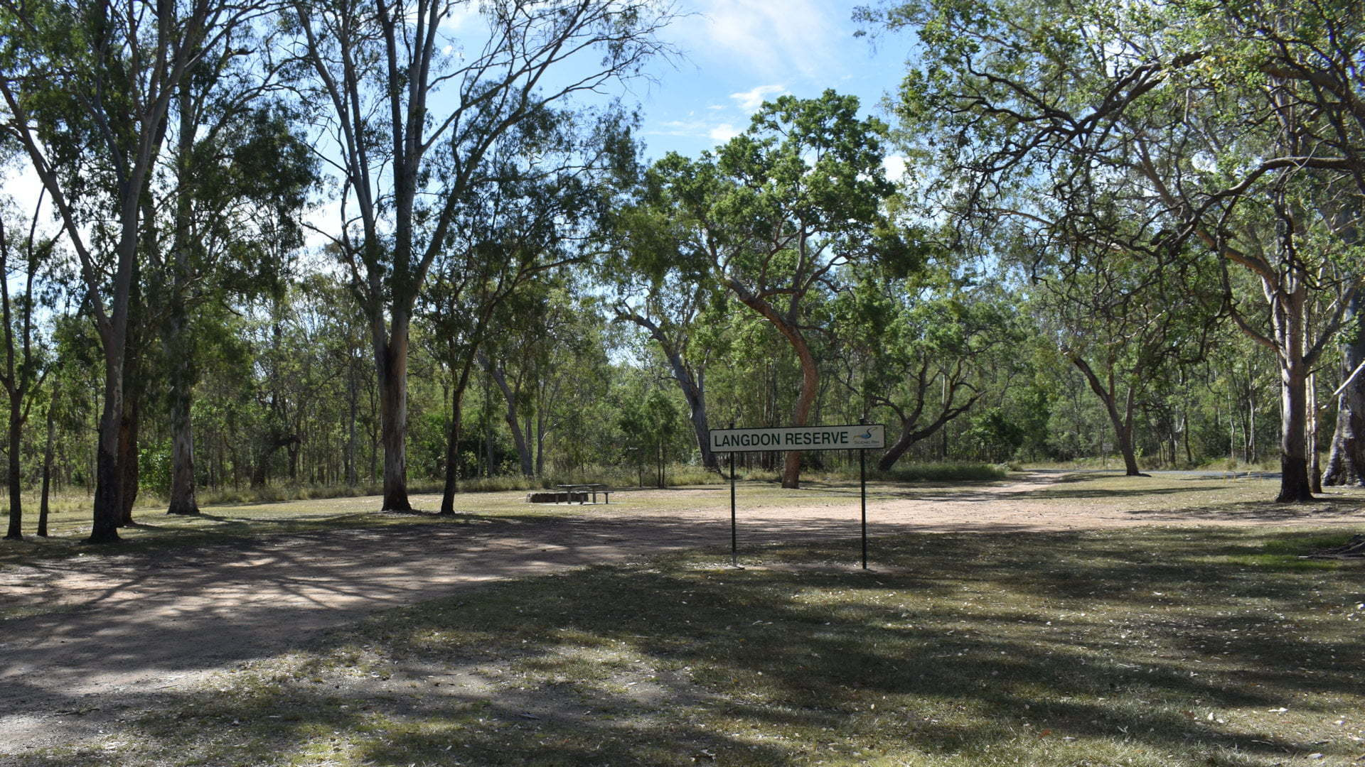 Langdon Reserve rest stop area between Rathdowney and Beaudesert, overnight free camp
