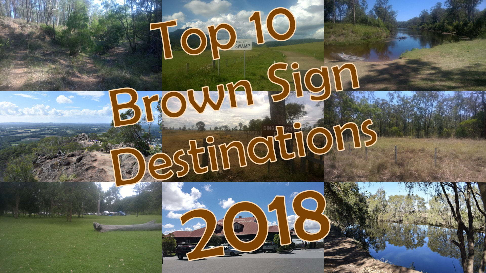 Top 10 Brown Sign Destinations 2018