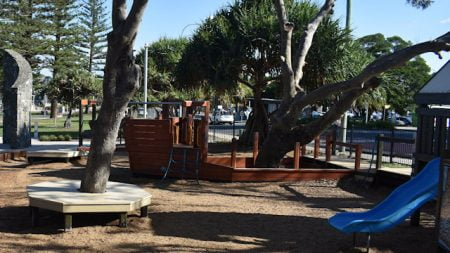 Playground area near Redcliffe Jetty