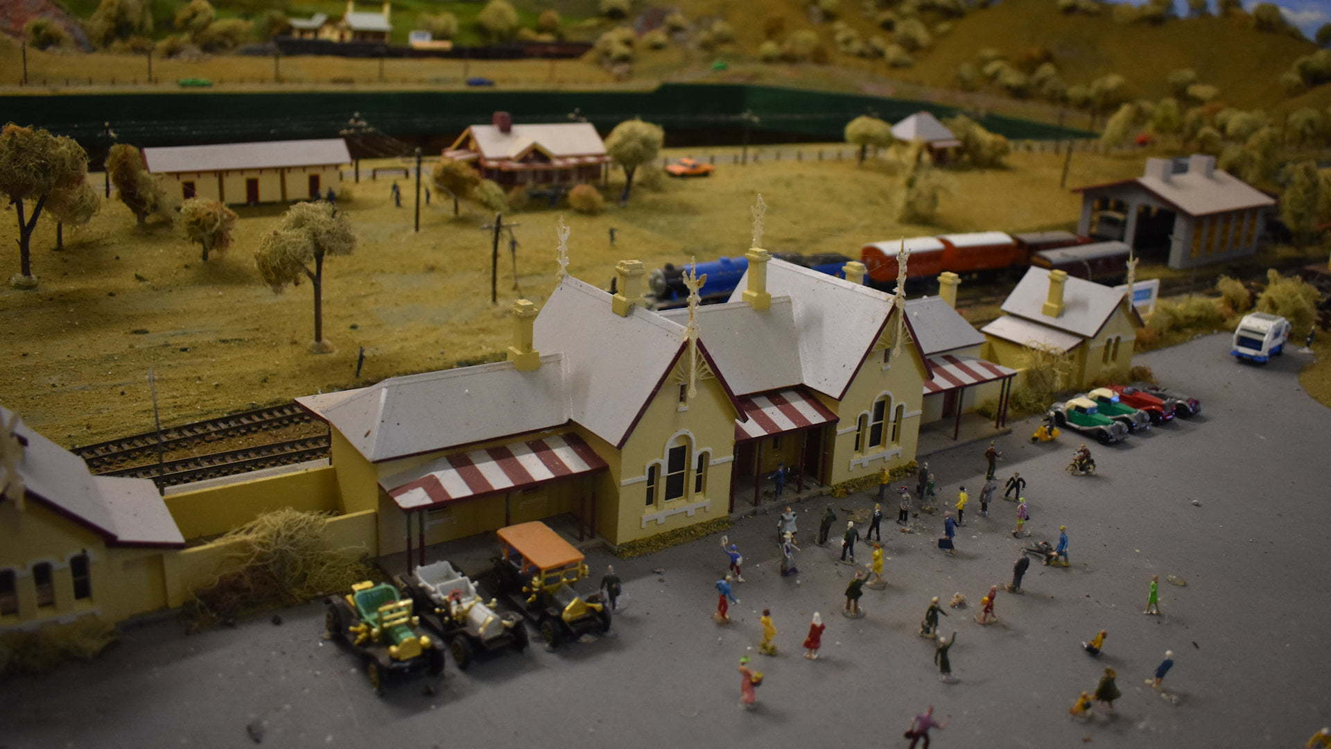 Model of the Tenterfield Railway Station, at the railway museum in Tenterfield