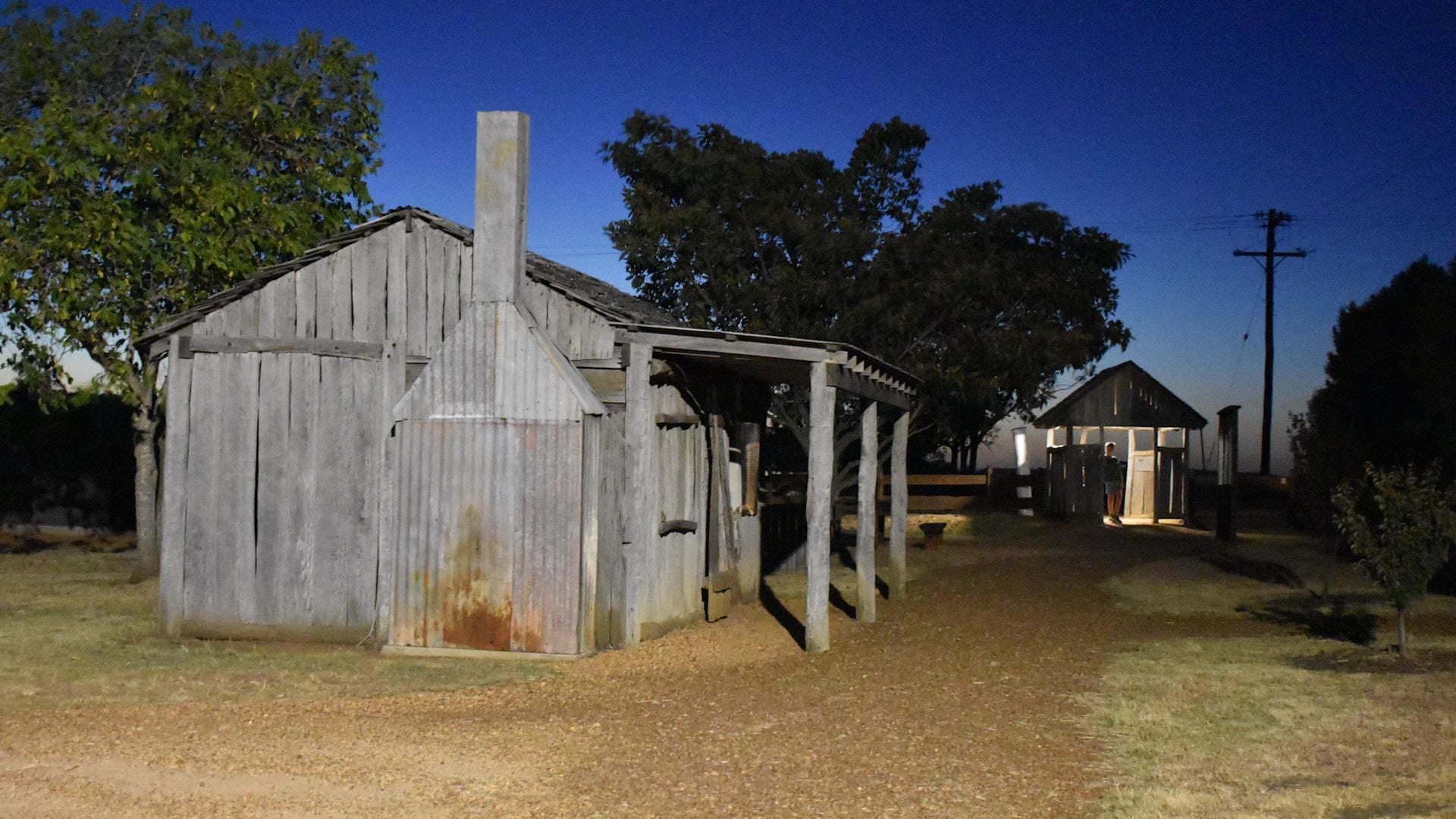 Slub hut house at Steele Rudd Selection Park