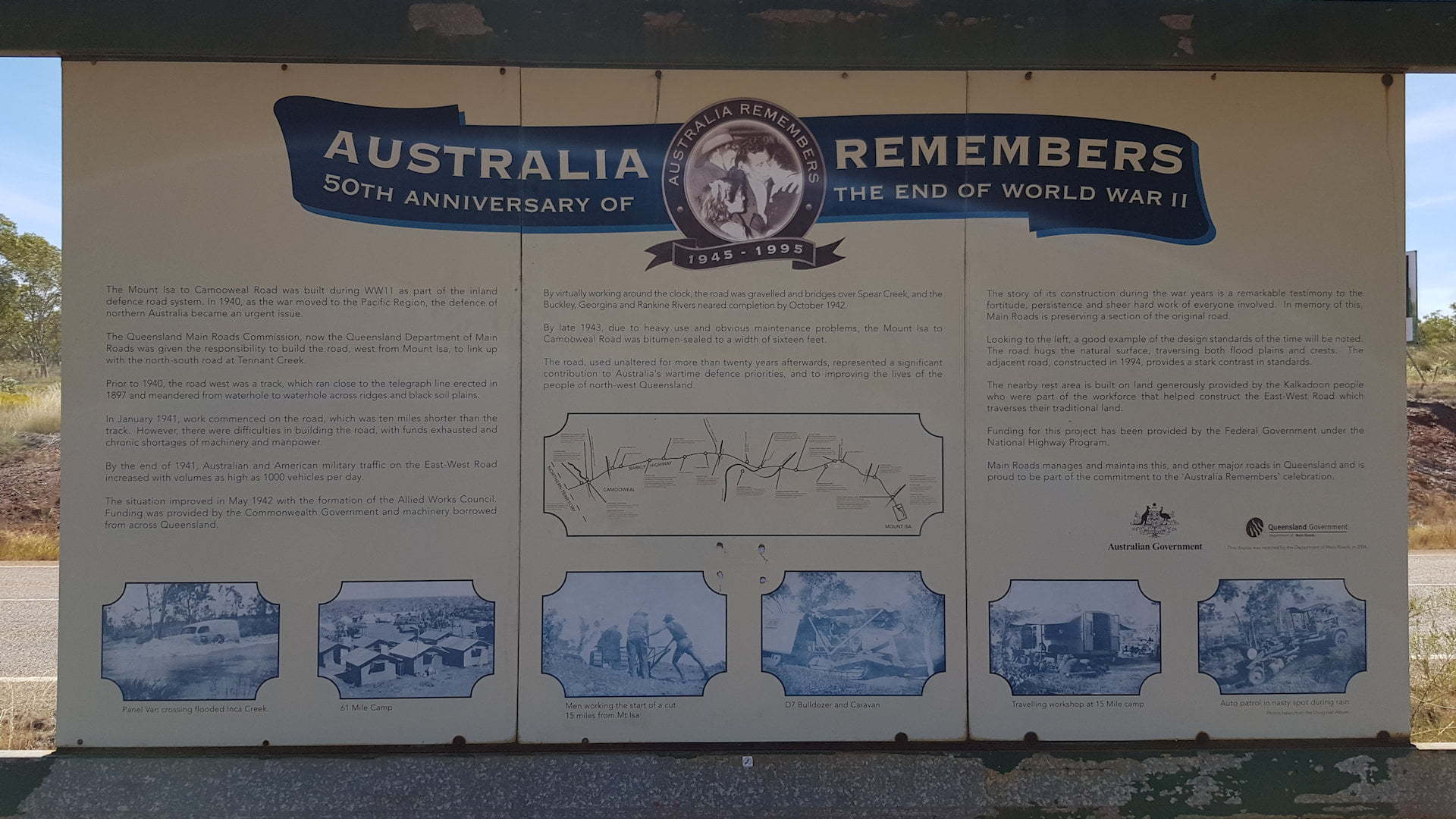 Australia Remembers, World War II Historical Site