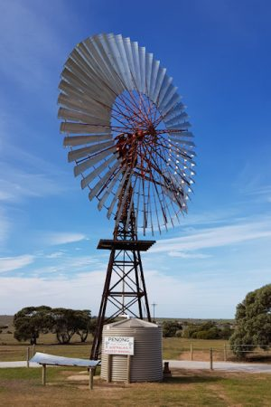 Australia's Biggest Windmill 'Bruce', in Penong South Australia, the Big Windmill is one of Australia's big things