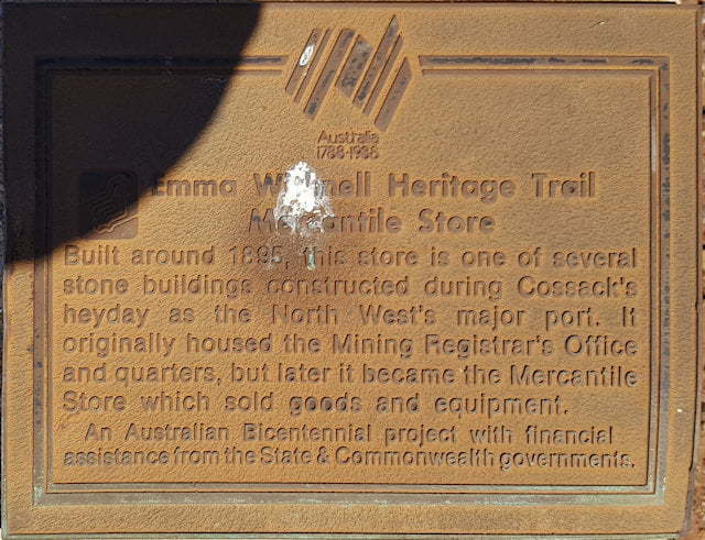 Emma Withnell Heritage Trail - Mercantile Store