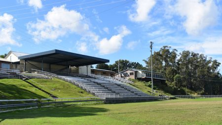 Grandstand at the Maclean Showground