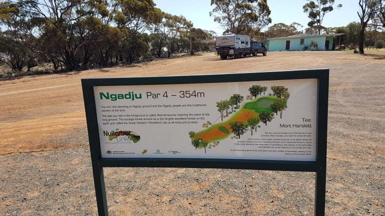 Nullarbor Links Golf Course Hole 15 Ngadju