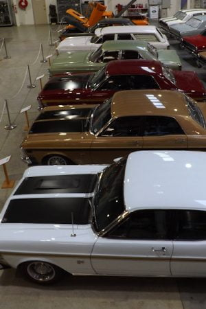Ford Falcon GTs at the Shepparton Motor Museum