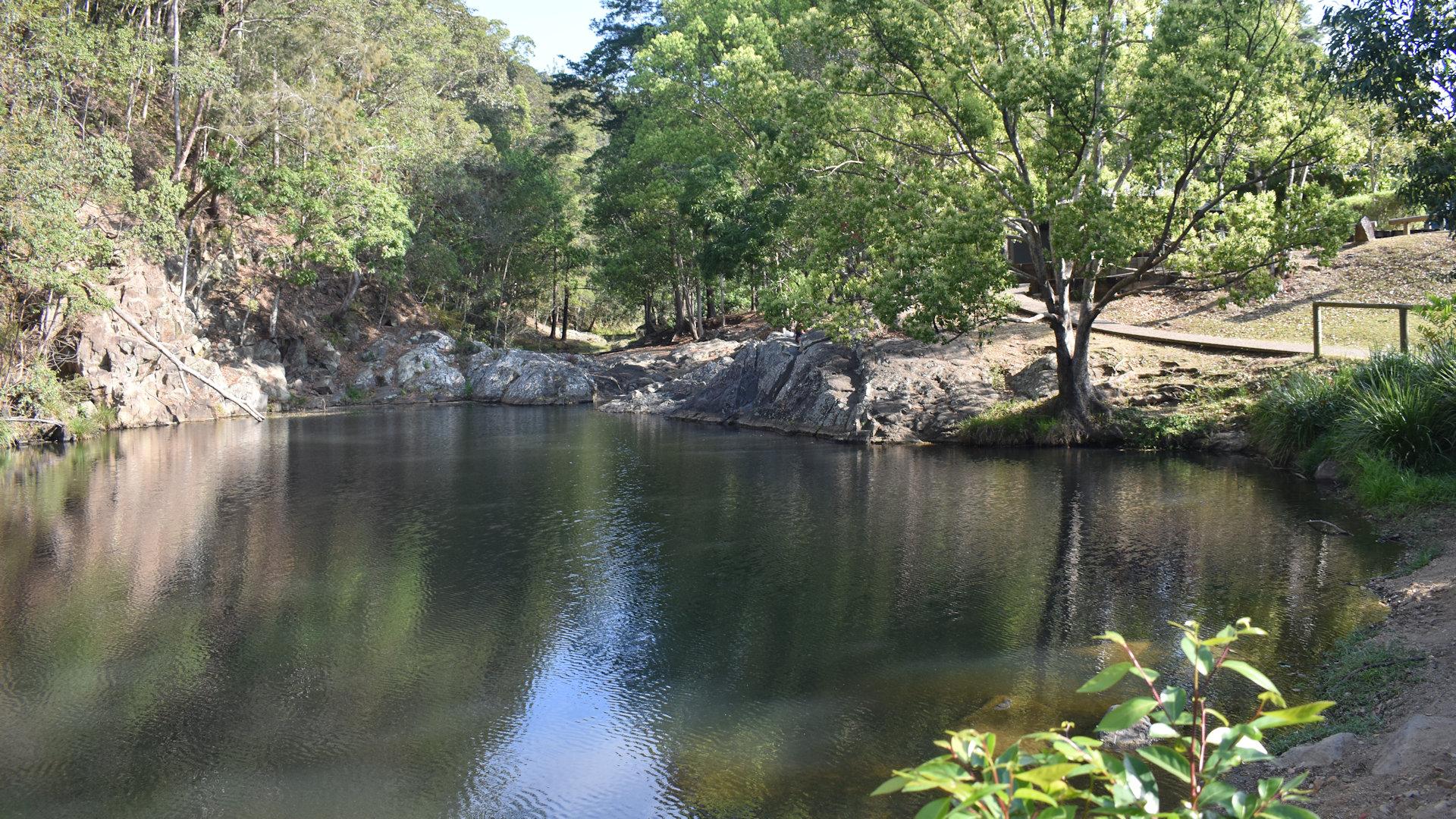 Currumbin Rock Pool in the Currumbin Valley, Gold Coast