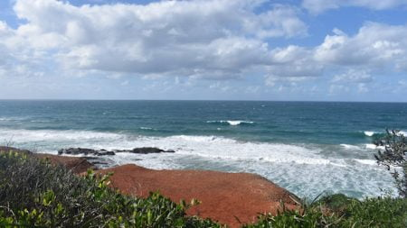 View from Redcliff in Yuraygir National Park