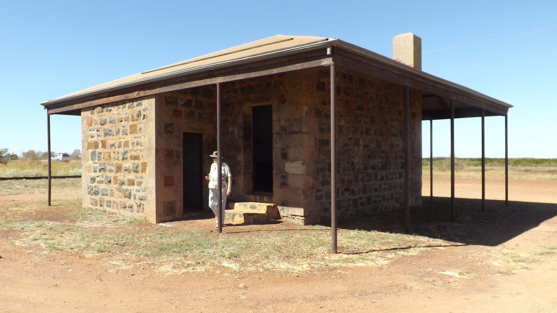 Historical School House in the abandoned town of Cossack in Western Australia