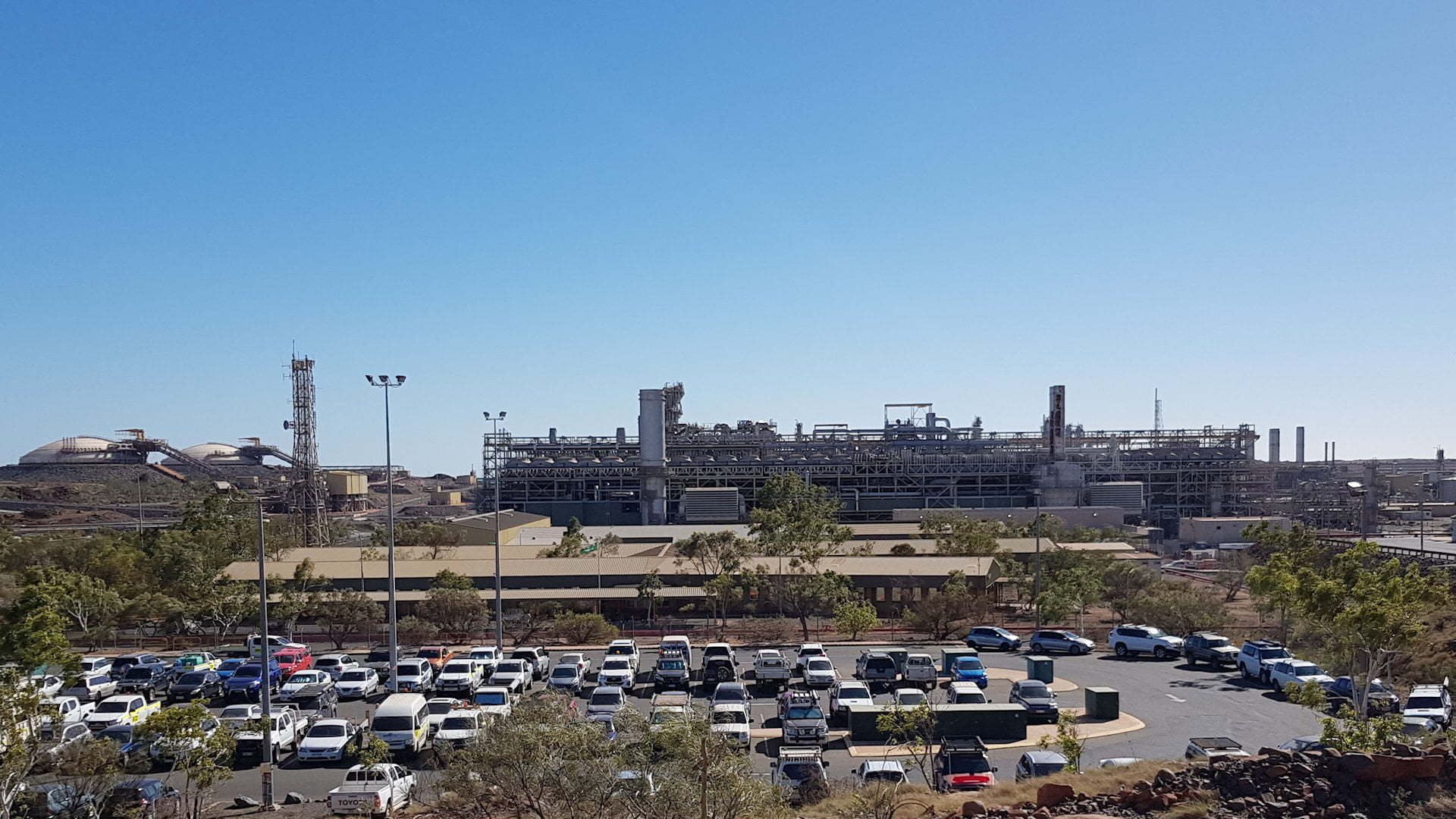 Karratha Gas Plant, NW Shelf Gas Project