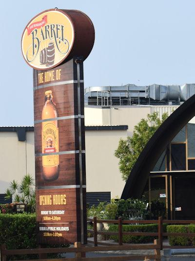 Bundaberg Ginger Beer Barrel