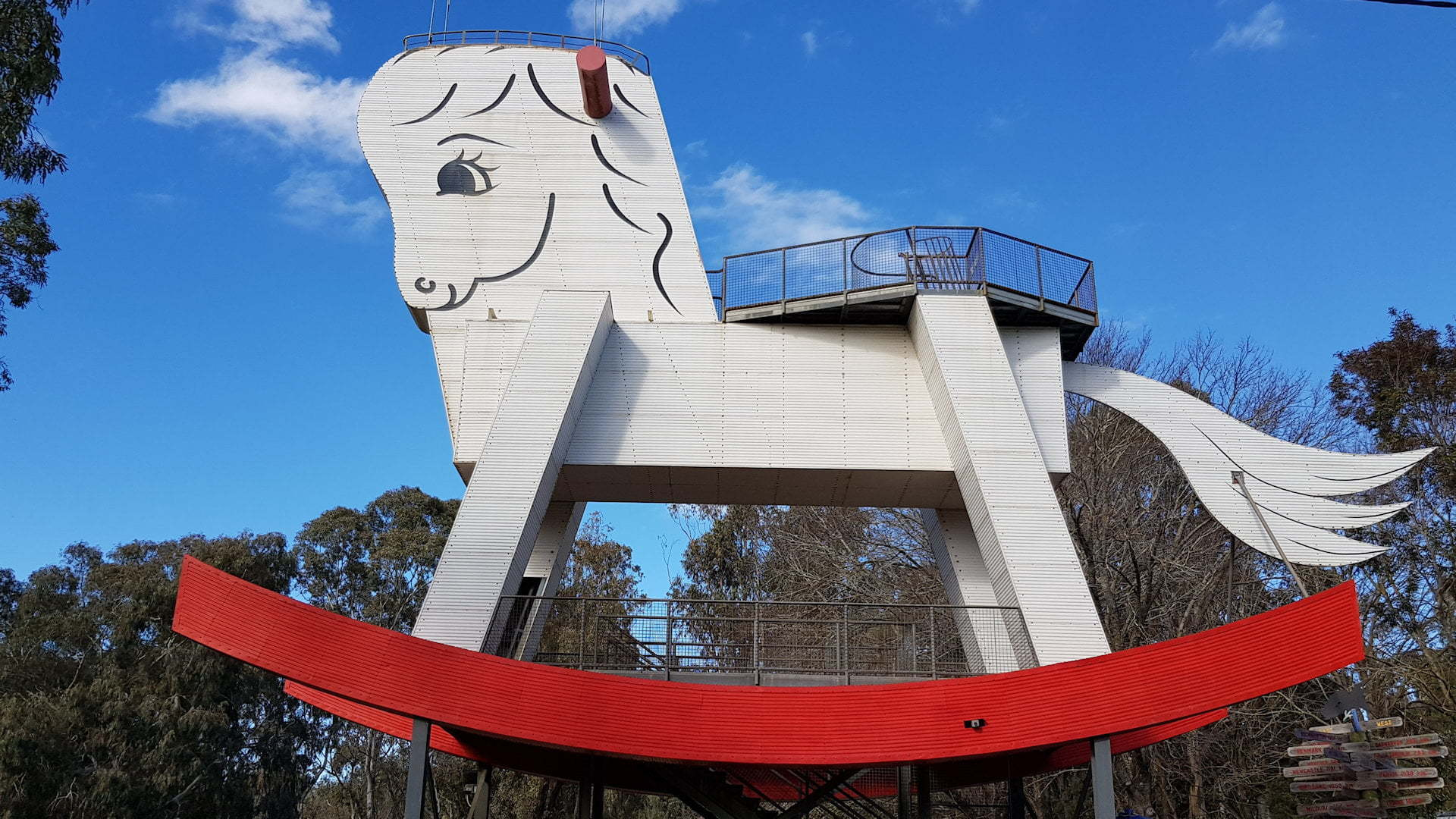 Big Rocking Horse at Gumeracha in the Adelaide Hills
