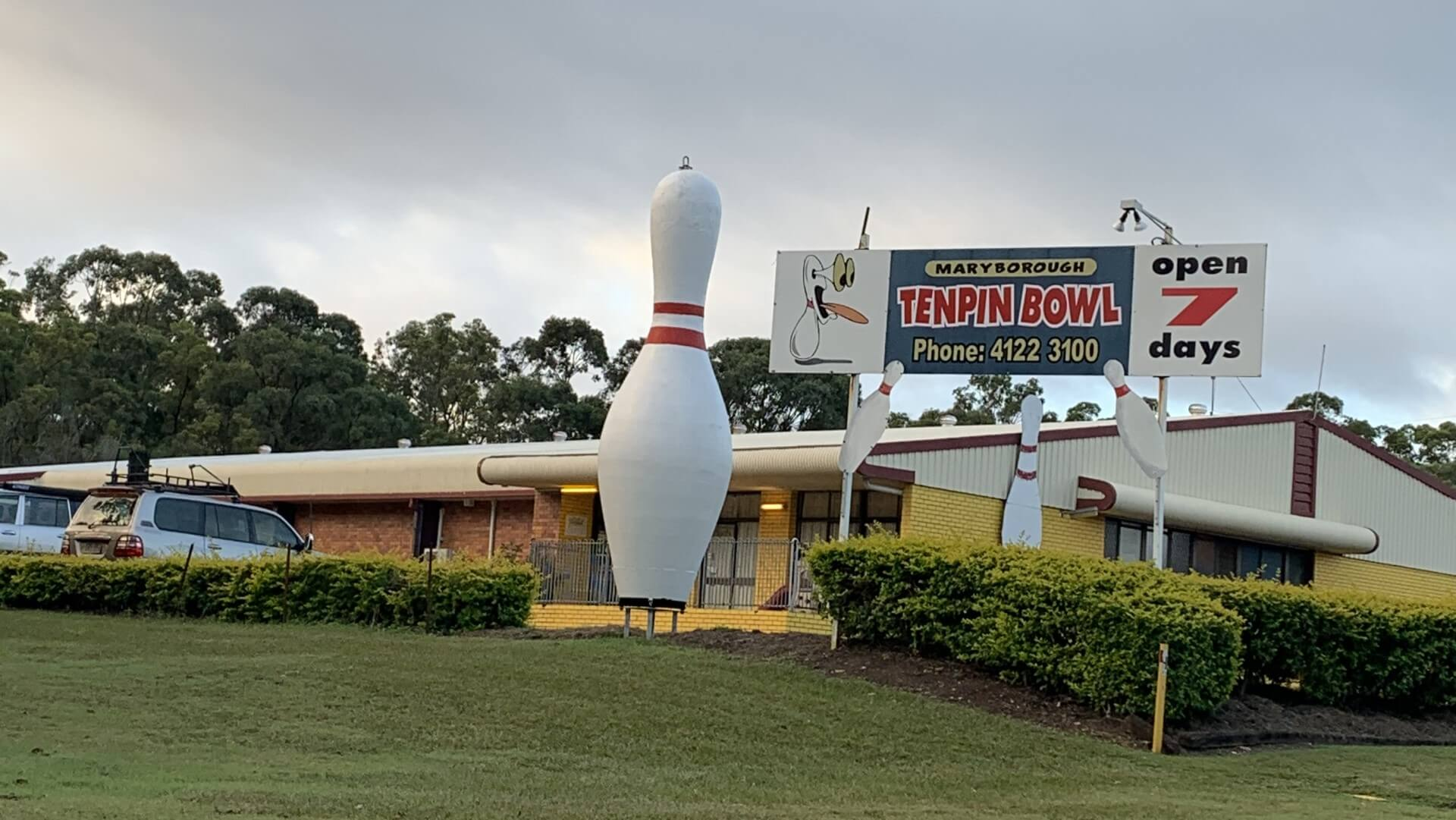 Big Bowling Pin in Maryborough Queensland