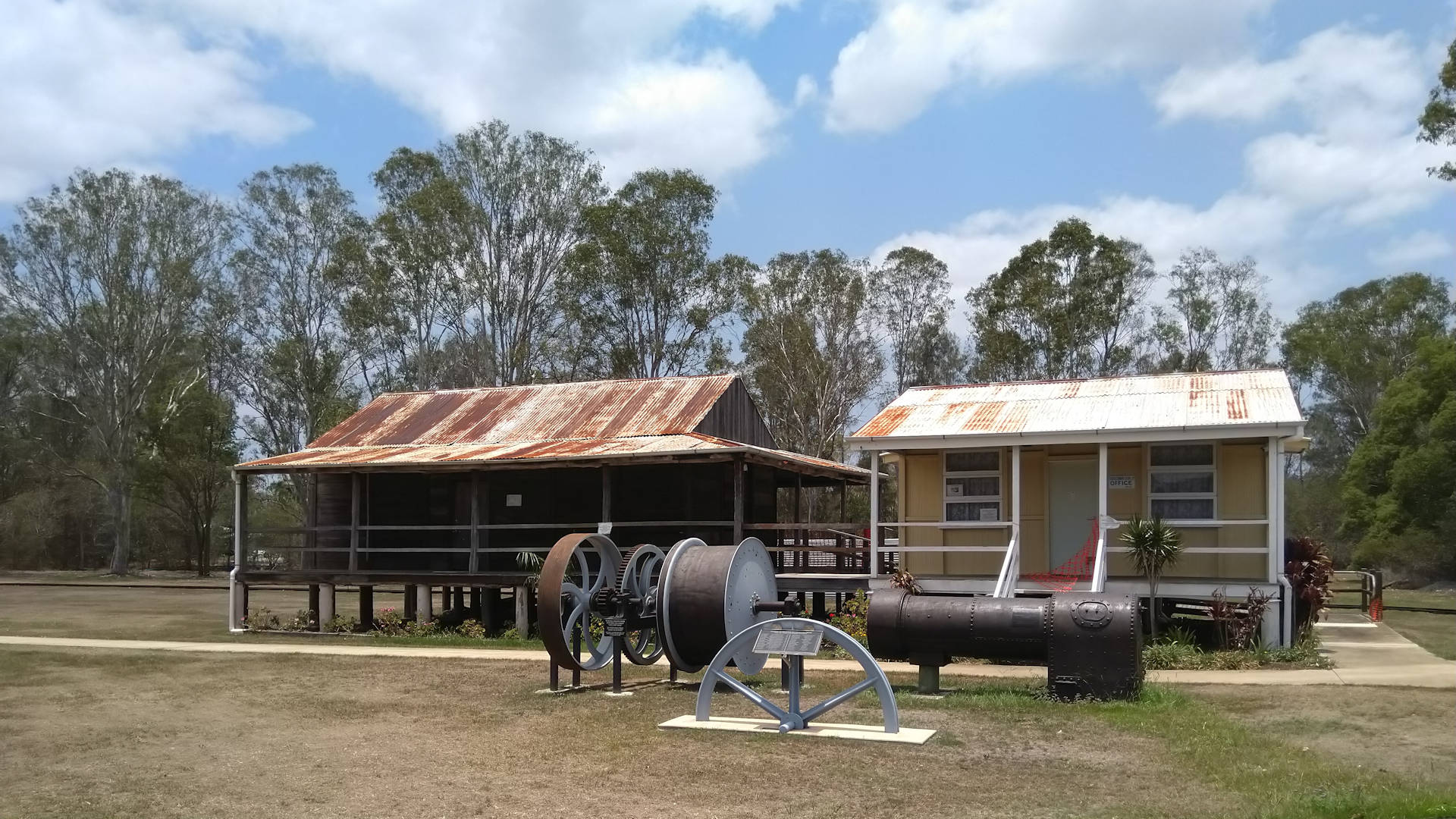 Historical buildings, taken at the historical museum at Howard Queensland